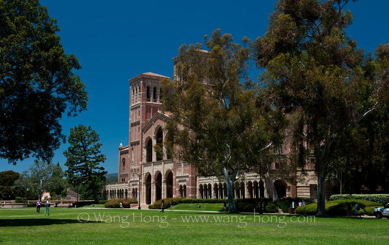 Campus of University of California, Los Angeles.