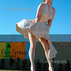 Marilyn Monroe's statue Palm Springs, California