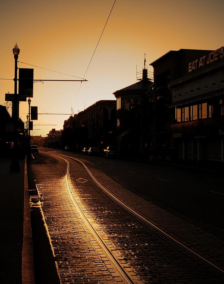 Morning Light on the Rails