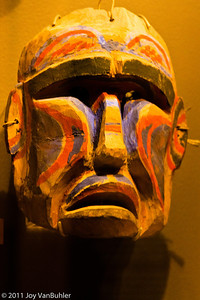 Northwest Native American Mask at the Field Musuem