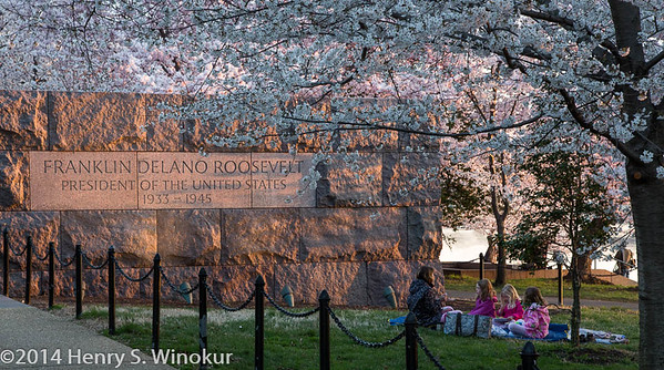 Breakfast by the FDR Memorial
