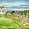 Water tower, Roselle, Illinois