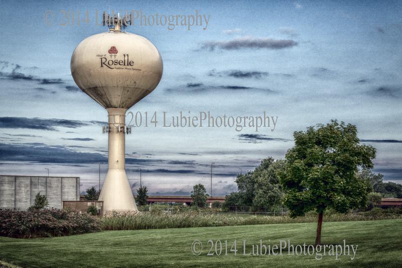 Water tower. Roselle, Illinois