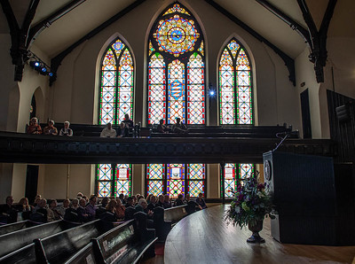 King Chapel Interior, Cornell College