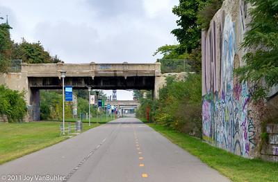 Dequindre Cut -- looking North