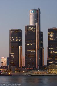 Detroit Skyline from Windsor