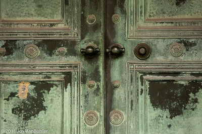 Crypt Doors at Elmwood Cemetery