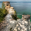 Miners Castle at Lake Superior. Munising, Michigan
