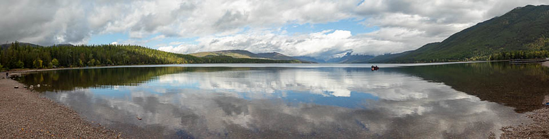 Lake McDonald Panorama