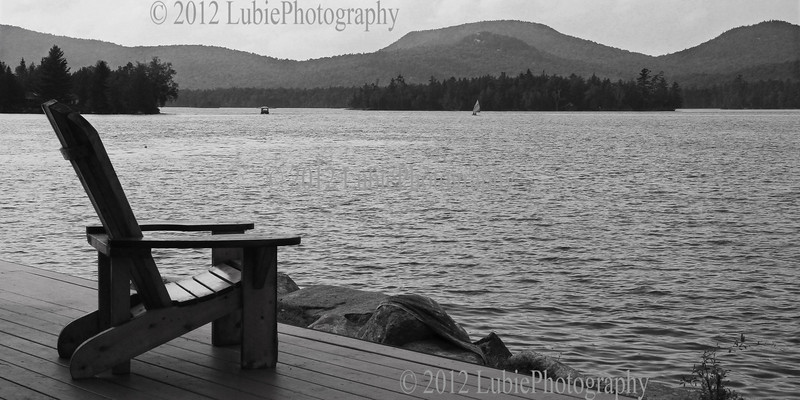 One of many lakes in Adirondack National Park, NY