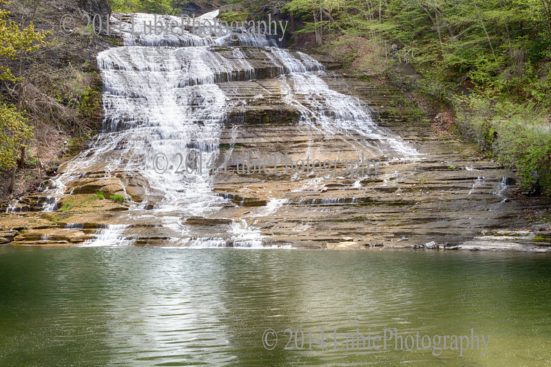 Buttermilk Falls State Park. Ithaca, NY