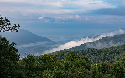 Fog on the Blue Ridge