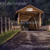 Claycomb Covered Bridge in Old Bedford Village. Bedford, PA