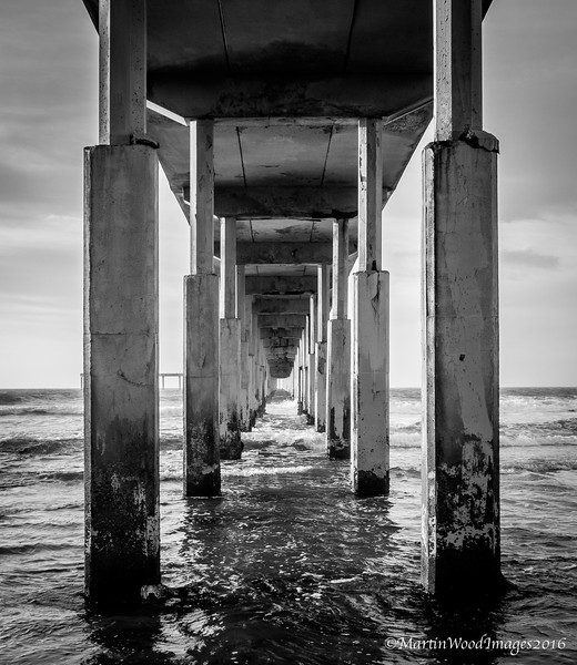 Under the Pier at Ocean Beach, CA, San Diego, CA