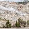 Roaring Mountain.  Yellowstone National Park, WY