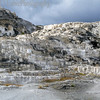 Mammoth Hot Springs Terraces.  Yellowstone National Park, WY