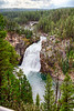 Upper Falls on Yellowstone River