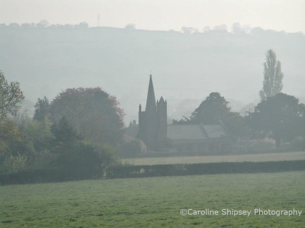 Towards the Church from A368