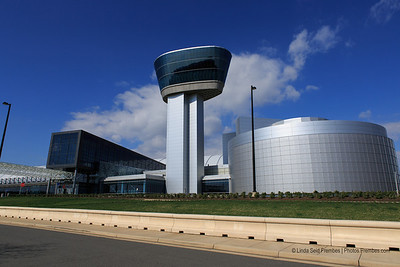 Exterior of the Steven F. Udvar-Hazy Center near Washington Dulles International Airport - April 2013