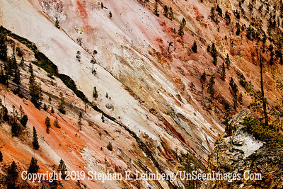 MULTICOLORED MOUNTAINSIDE JPG 20110618_Yellowstone - June 2011_7104