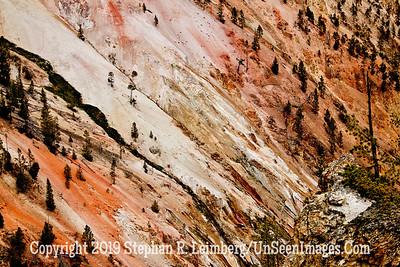 MULTICOLORED MOUNTAINSIDE JPG 20110618_Yellowstone - June 2011_7104