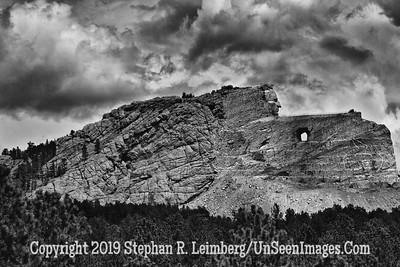 Crazy Horse 5 B&W JPG 20110621_Mt Rushmore Crazy Horse_8456