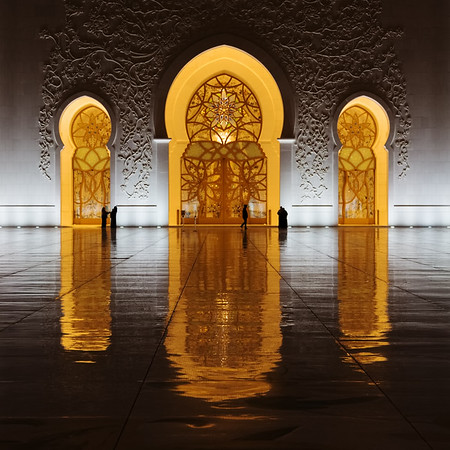 Doors of the Sheikh Zayed Mosque