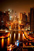 Dubai Marina - Tone-mapped