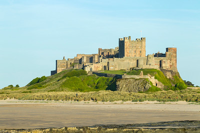 Bamburgh Castle, Northumberland, United Kingdom 12 June 2015