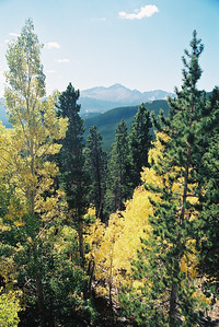 Longs Peak in Fall (N60, scanned from negative)