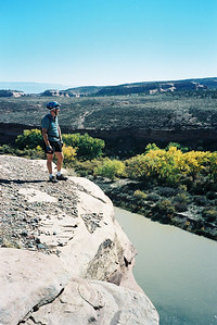 Mountain biking in Fruita, CO (N60, scanned from negative)