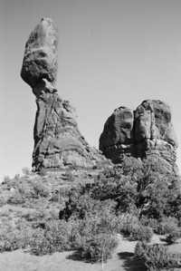 Balance Rock; Moab, UT (N60, scanned from negative)