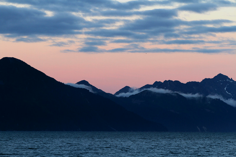 Sunset - Resurrection Bay, Seward.