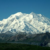 Mt. McKinley in all its glory. During the summer, the mountain is only completely clear of cloud cover about 20% of the time.