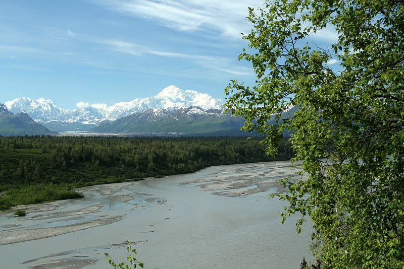 Mt. McKinley and the Susitna River Valley