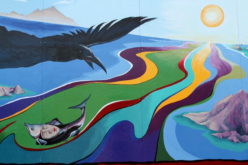One of Seward's many murals