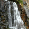 A roadside waterfall - Seward Highway