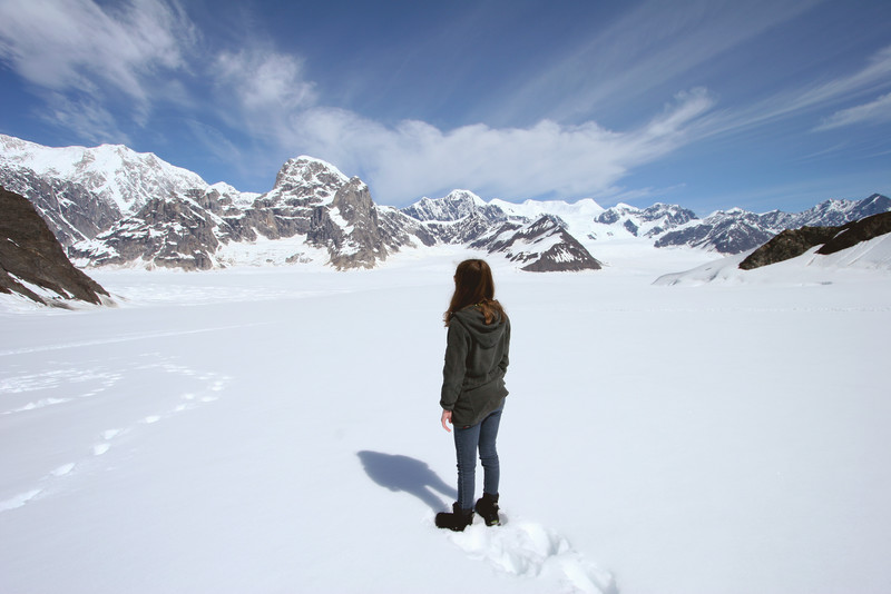 Ruth Glacier - Alaska Range