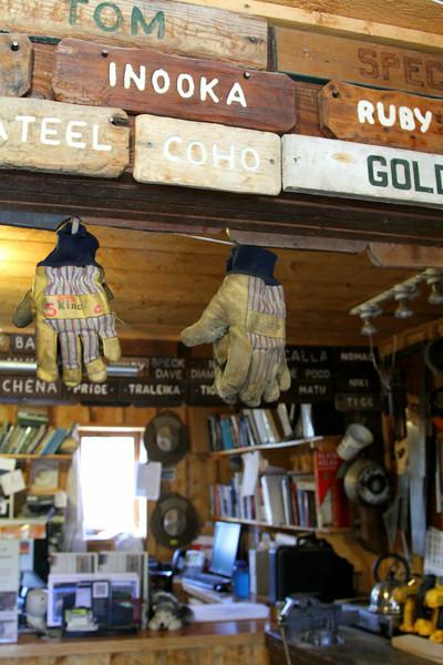 Sled dog tack shop - Denali National Park