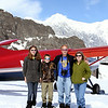 On the Ruth Glacier - Alaska Range