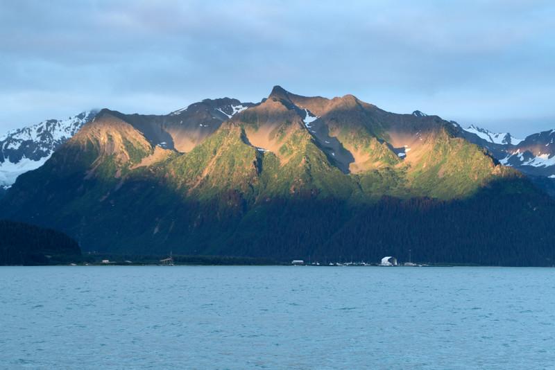 A view across Resurrection Bay from Seward