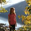 Tourist at Jenny Lake - Grand Teton National Park, Wyoming