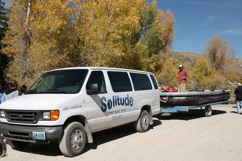 Going rafting on the Snake River