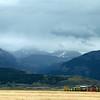 Backside of the Teton Range viewed from Idaho