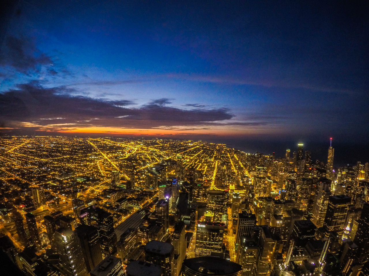 Skydeck Chicago Susnet July 27th, 2015