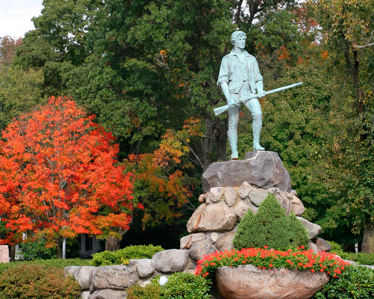 Minuteman Monument - Lexington, Massachusetts