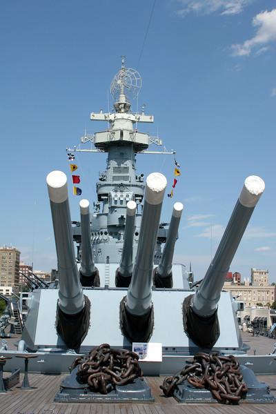 Battleship USS North Carolina - Wilmington.