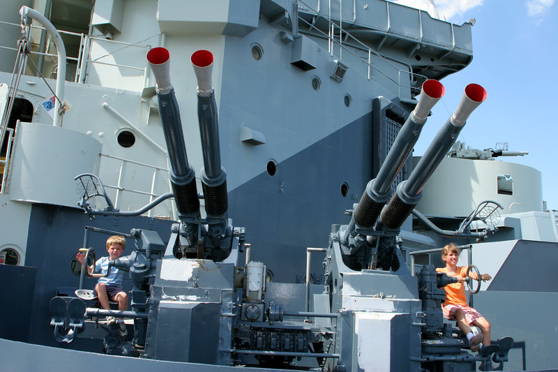 Battleship USS North Carolina - Wilmington