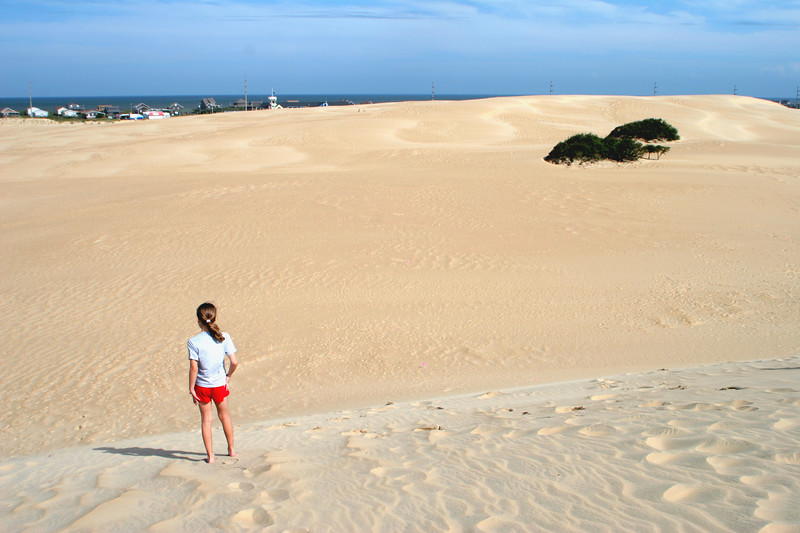 Jockey's Ridge dunes - Nags Head