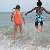 Friends at play - Carolina Beach, North Carolina.